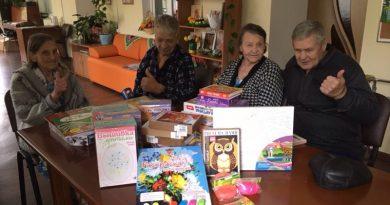 #Спасибо. Отчет по акции День пожилого человека