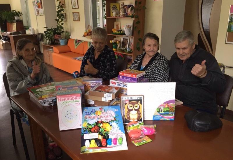 #СПАСИБО! Отчет по акции День пожилого человека