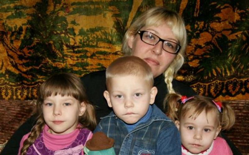 Заставка для - Поможем Наталье Лузиной вырастить детей