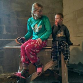 Заставка для - Сбор средств на восстановление дома Анны Войтовой