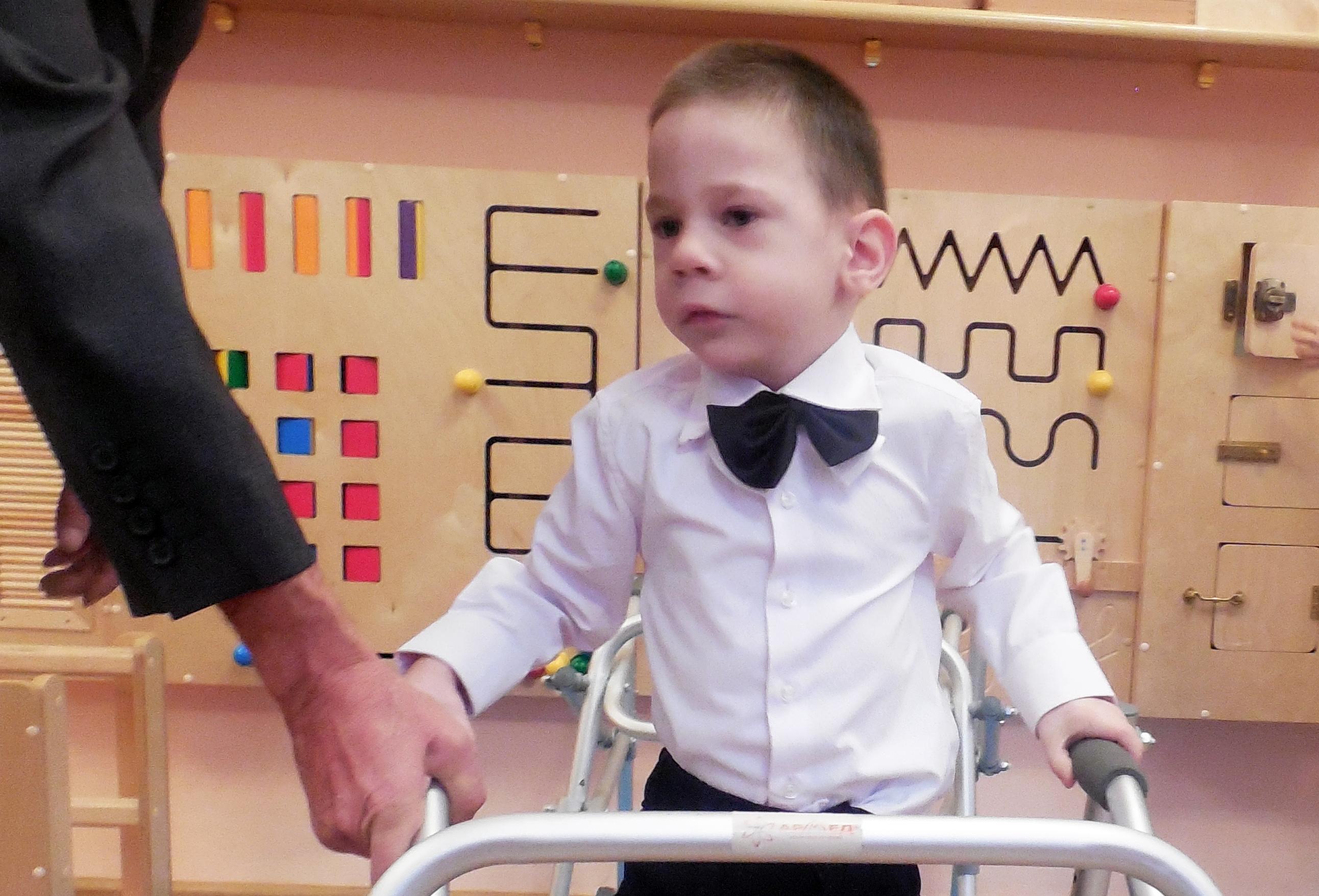 Необходимое лечение для пятилетнего Андрея