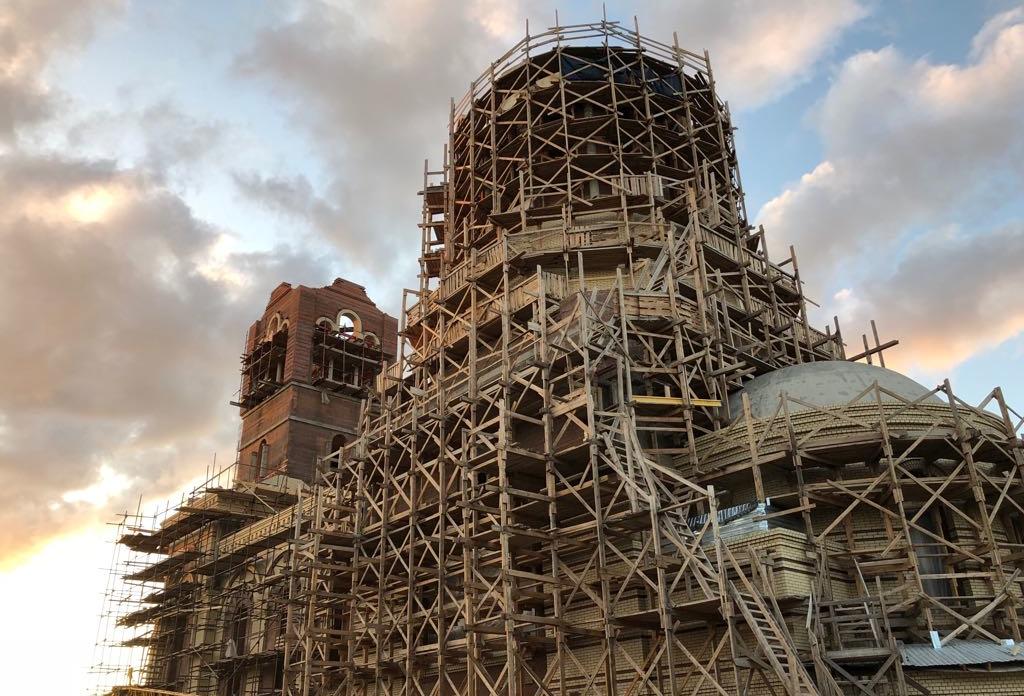 Заставка для - Строительство храма свт. Спиридона Тримифунтского