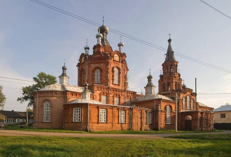 Заставка для - Поддержать собор Вознесения Господня в г. Осташков