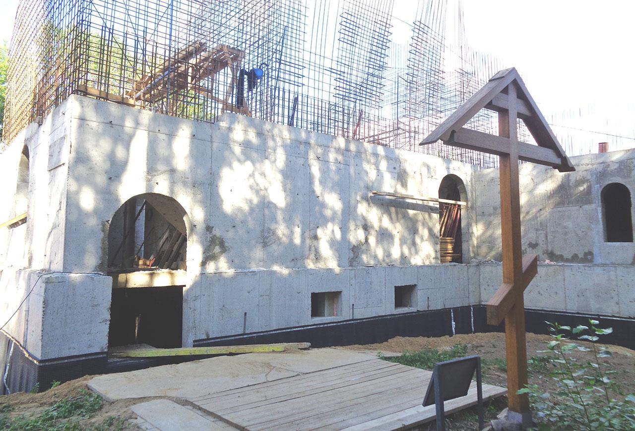 Появились подробности строительства храма в «Матросской тишине»