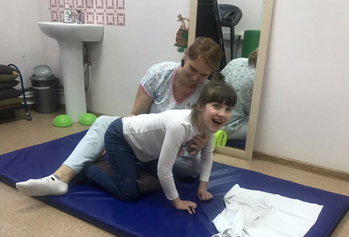 София Шарова прошла реабилитацию