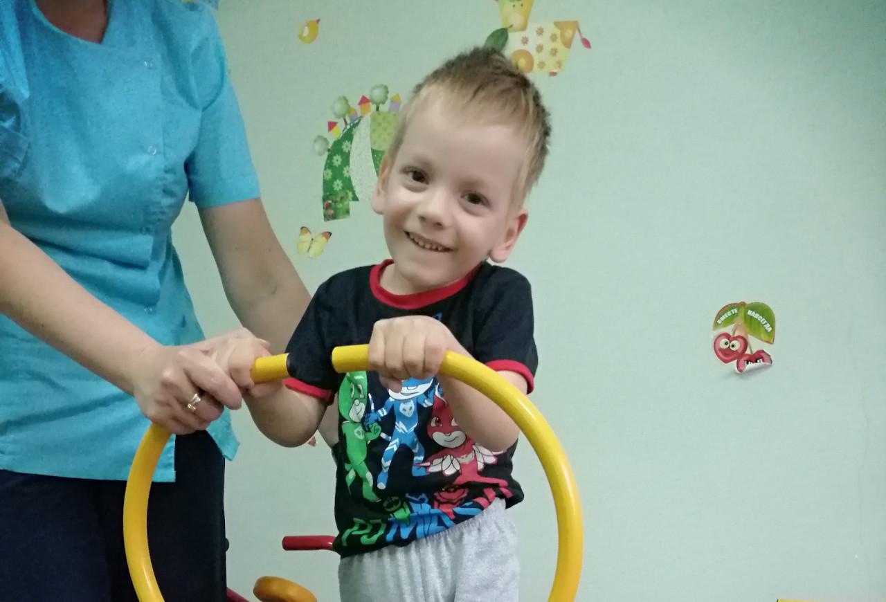 #СПАСИБО! Жуков Максим прошел реабилитацию!