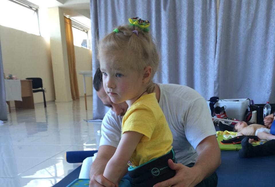 #СПАСИБО! Захарова Алина прошла реабилитацию!