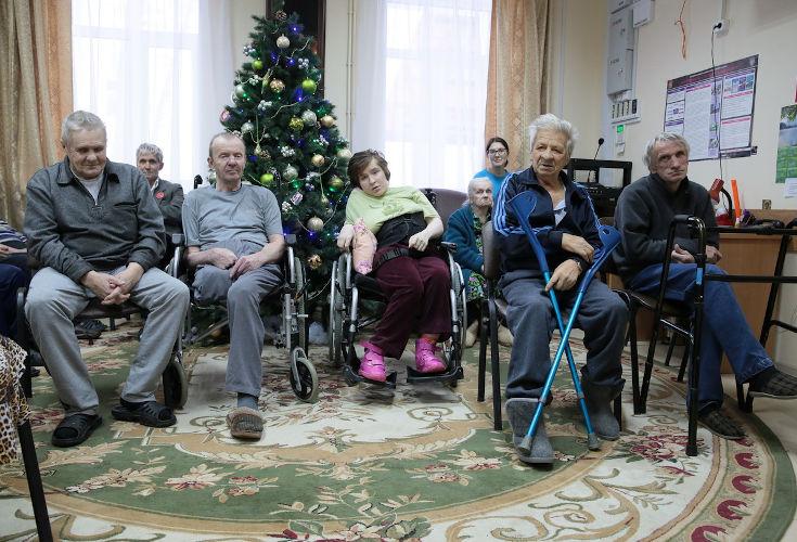 Заставка для - Подарим праздник дому престарелых
