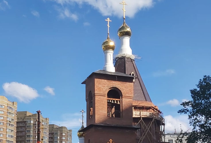 Заставка для - Храм Серафима Саровского в Дегунино