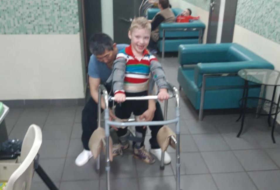 #СПАСИБО! Колодкин Матвей прошел реабилитацию