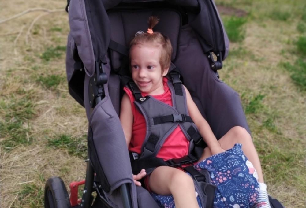 #СПАСИБО! Прохоренко Полина получила свою долгожданную коляску