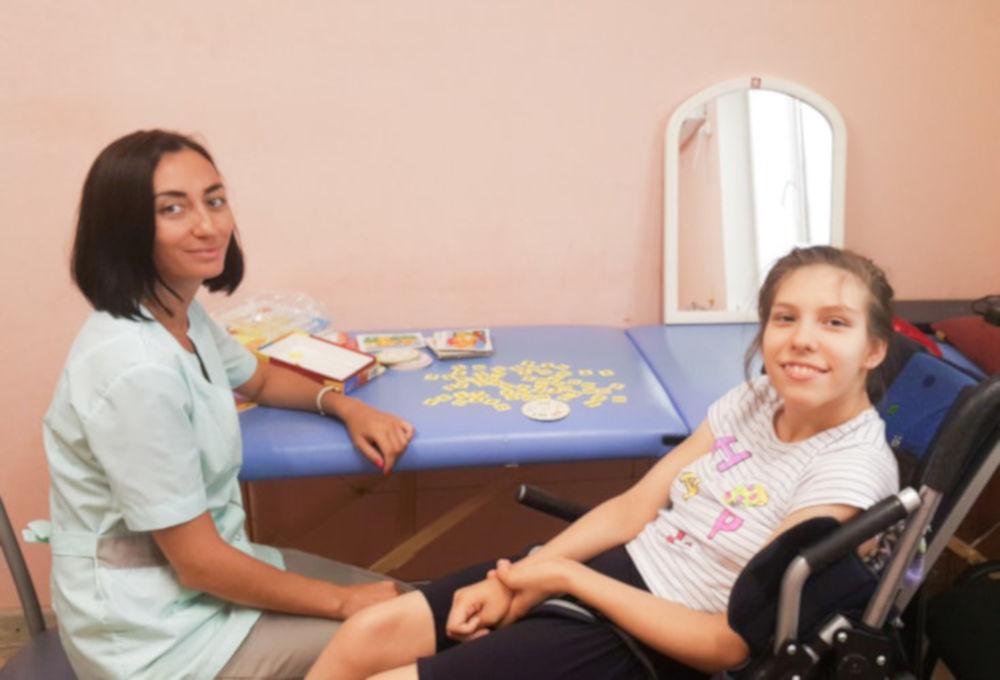 #СПАСИБО! Атаманова Снежана успешно прошла реабилитацию