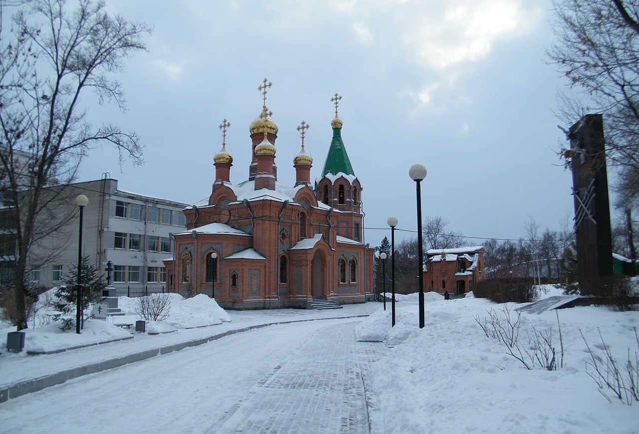 Заставка для - Хабаровску нужна помощь — храм, с которого начинался город остался без крыши