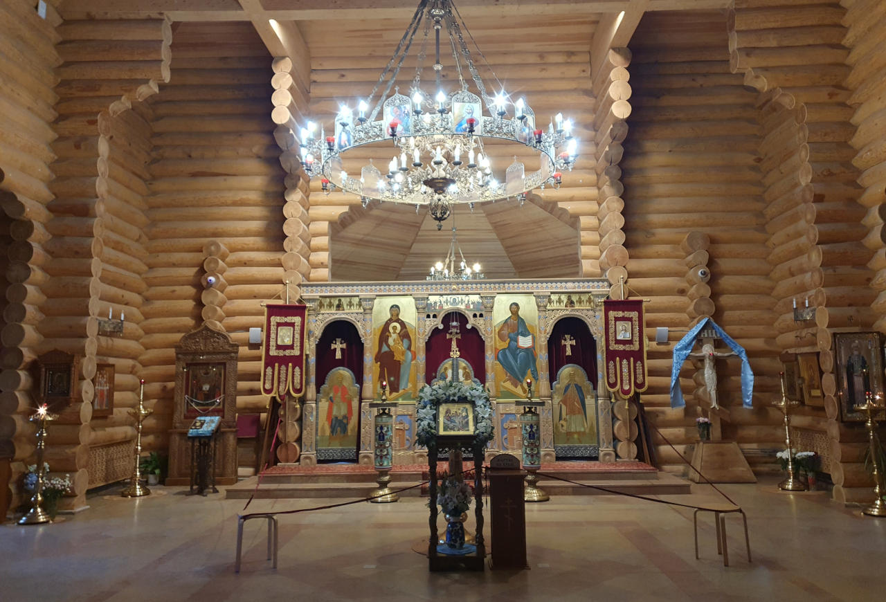 Заставка для - Храм Двенадцати Апостолов в Ховрине