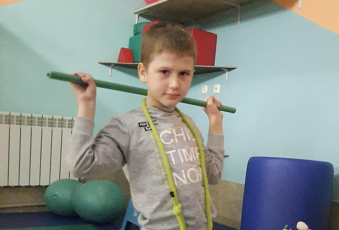 #СПАСИБО! Артём Андрющенко прошёл реабилитацию