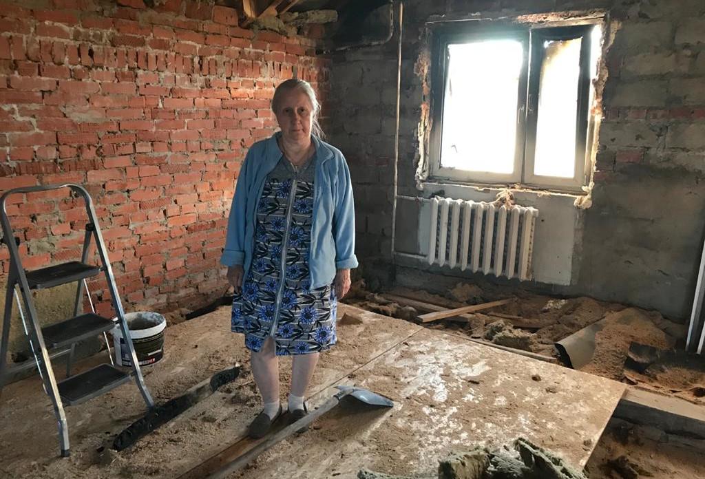 Заставка для - Поможем отцу Сергию восстановить второй этаж дома после случившегося пожара