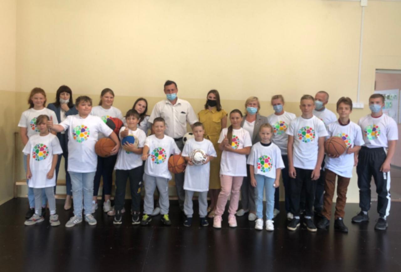#СПАСИБО! Вместе мы помогли Гореловской школе восстановить спортзал