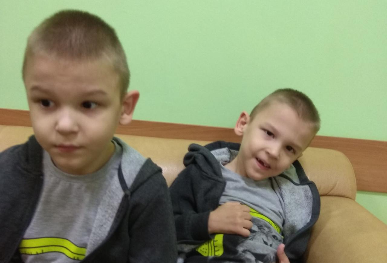 #СПАСИБО! Черкасовы Матвей и Кирилл успешно прошли реабилитацию